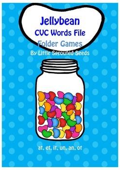 CVC Jellybean File Folder Game