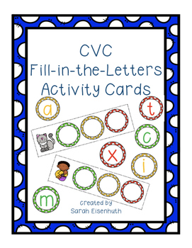 CVC Fill in the Letters
