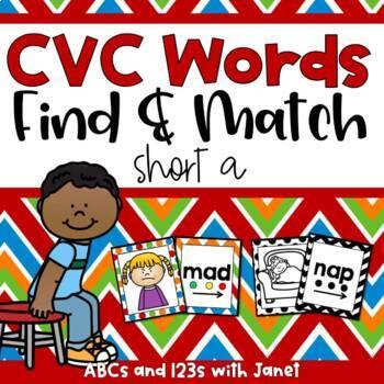 CVC Find and Match {short a}