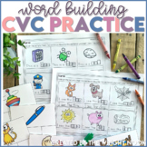 CVC Word Practice Distance Learning