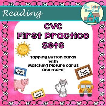 CVC First Practice Sets