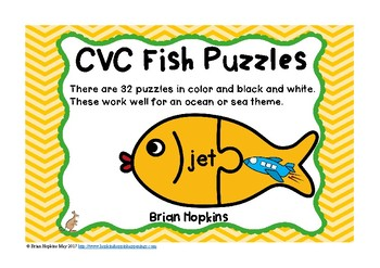 CVC Fish Puzzles