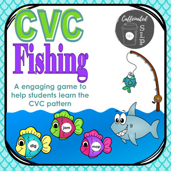 CVC Fishing: A Game to Improve Phonological Awareness & Decoding Skills