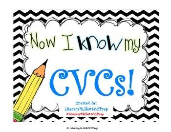 CVC Flash Cards - Reading