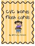 CVC Flash cards