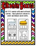 Elkonin Boxes: CVC Words