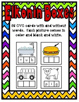 Elkonin Boxes: CVC Words