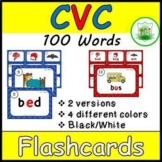 CVC Flashcards and Posters - 90 CVC WORDS