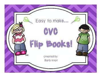 CVC Flip Books