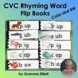 CVC Activities Flip Books for Rhyming Word Families for Ho