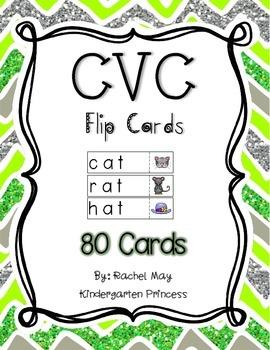 CVC Flip Cards