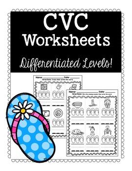 CVC Flip Flops: Differentiated Levels!