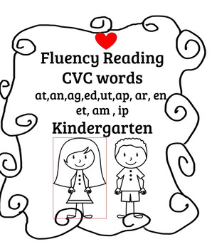 CVC Fluency Activities  Perfect for reading interventions