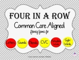 CVC Fluency Bundle of Four in a Row Games