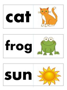 CVC Fluency Cards