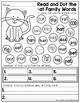 CVC Fluency: Dot a Word Family