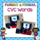CVC Words Fluency & Fitness® Brain Breaks - distance learning