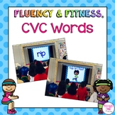 CVC Words Fluency & Fitness Bundle