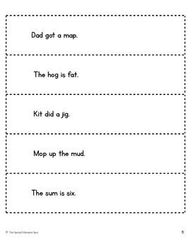 CVC Fluency Pack [Practice & Assessment]