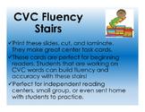 CVC Fluency Stairs