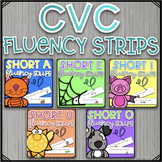 CVC Fluency Strips Bundle