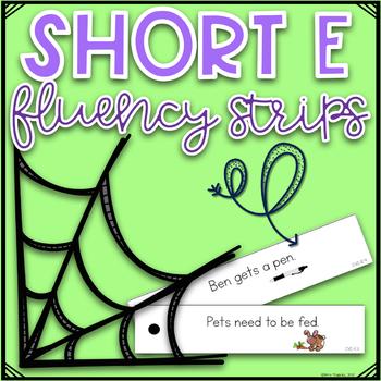 CVC Fluency Strips- Short E