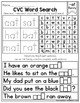 CVC Fluency: Word Searches and Sentences