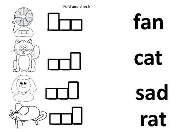 CVC Fold, Write and Check