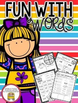 CVC Word Work: NO prep