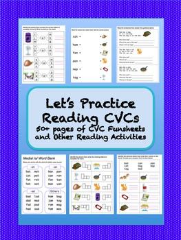 CVC Funsheets and Activities