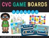 CVC Game Boards