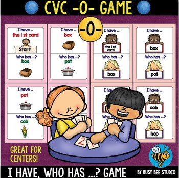 CVC Game: I have, who has (-O-)