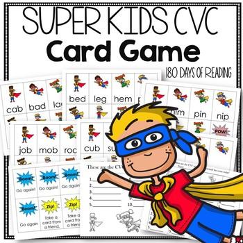 CVC Fluency Game!