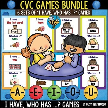 CVC Games Bundle: I have, who has