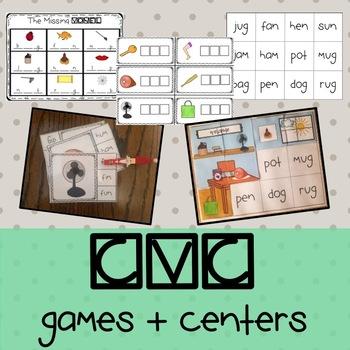 CVC Games + Centers