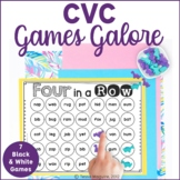 CVC Games Galore: 7 Easy Prep Games