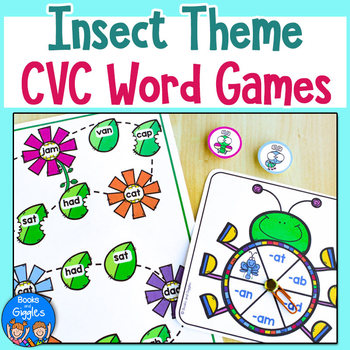 CVC Games - Insect Theme