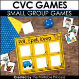 CVC Games and Partner Activities {Kindergarten Literacy: CVC Words}