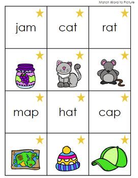 CVC Go Fish and Memory Game