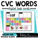 CVC Google Slides™ and Seesaw™ Activities Read and Build