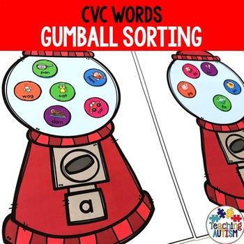 CVC Gum Ball Sorting
