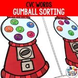CVC Words Sorting Vowels