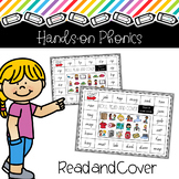 CVC Hands On Phonics: Read and Cover