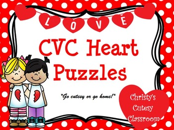 CVC Heart Puzzles