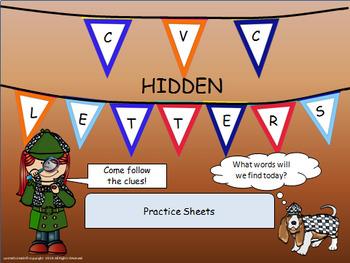 CVC Hidden Letters