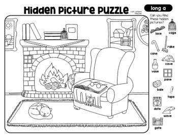 CVC Hidden Picture Puzzles
