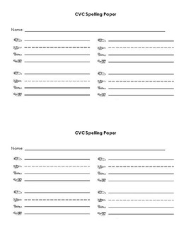 CVC Homework Practice for Parents
