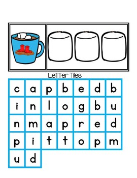 CVC Hot Cocoa - Spelling CVC Words