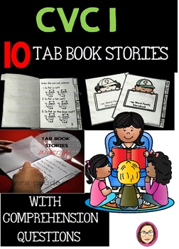 CVC I EASY TO READ TAB BOOK STORIES