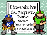 CVC I Have Who Has Mega Pack *Football Theme*
